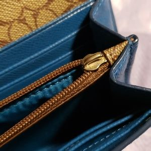 Coach Bags - Authentic Teal Coach Wallet